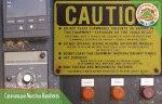 Controles de lo que suponemos es un horno para pruebas metalúrgicas